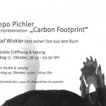 "Buchpräsentation ""Carbon Footprint"""